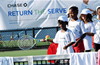 Chase Return the Serve Fun Day at the MWYF in 2019.