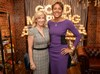 Chris Evert visits the Good Morning America studio on April 10, 2019.