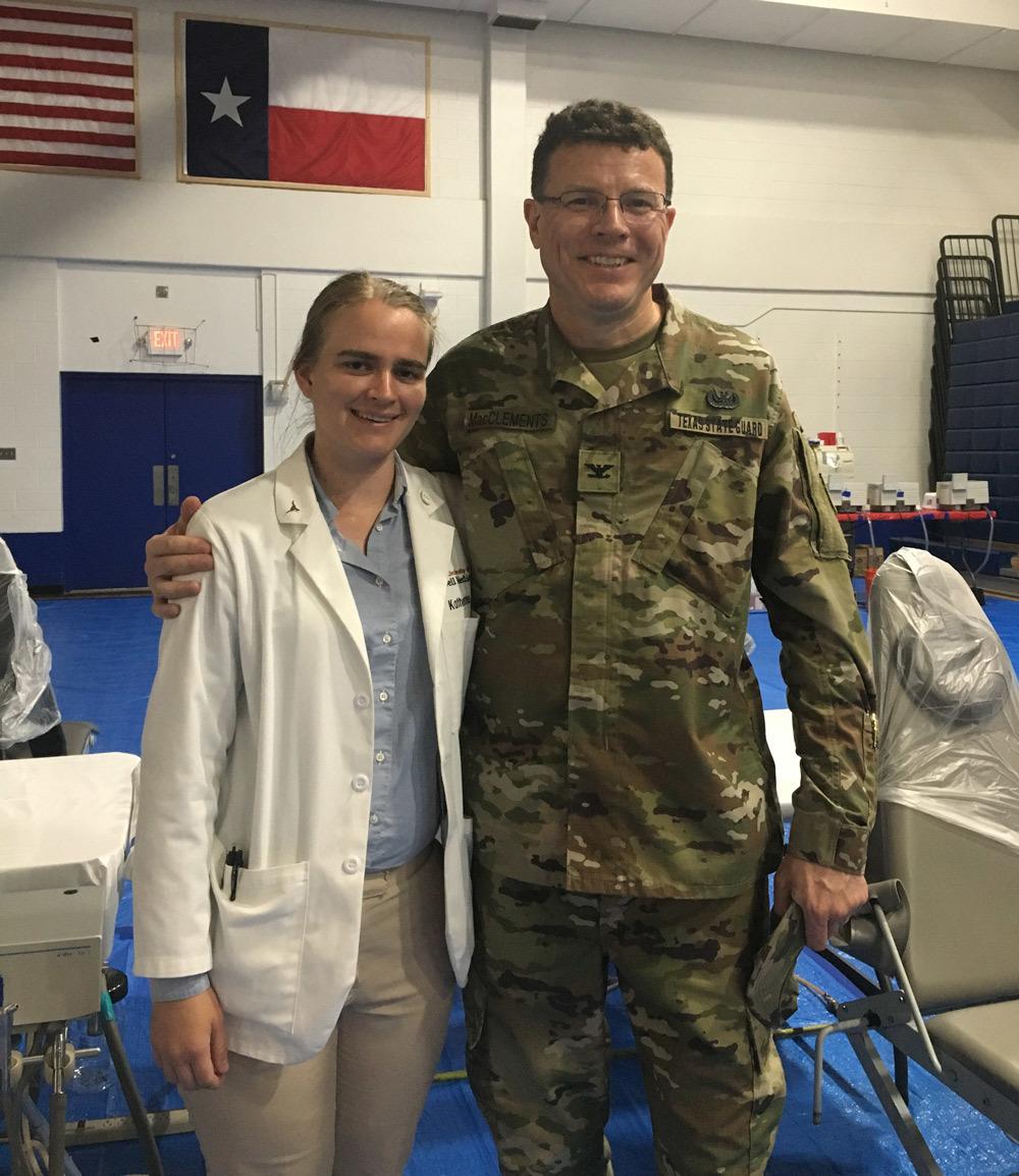 Jonathan MacClements and Katherine Jenson at Operation Lone Star 2019.