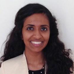 Headshot of Sarayu Adeni.