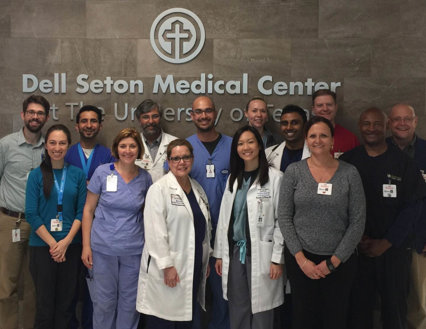 Residents in the Dell Seton Medical Center.