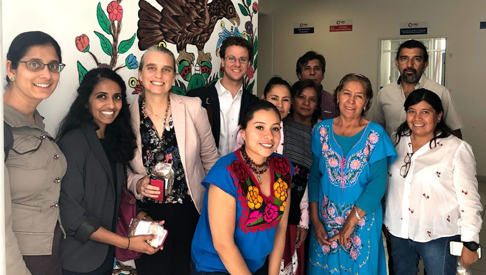 Division of Global Health students working in Mexico