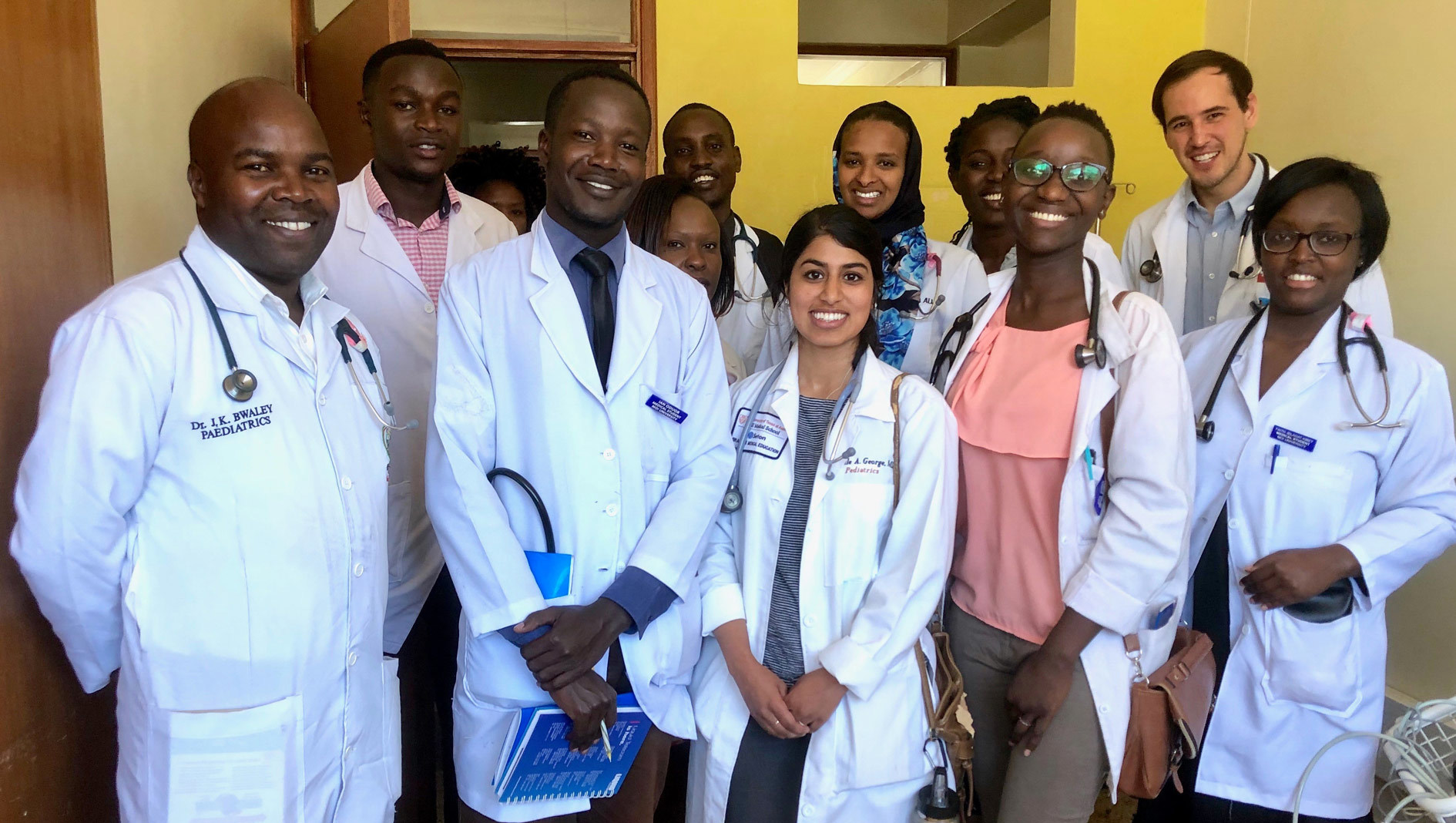 Division of Global Health students working in Kenya