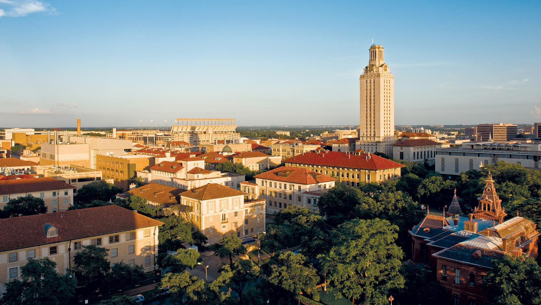 The University of Texas at Austin's campus Tower.