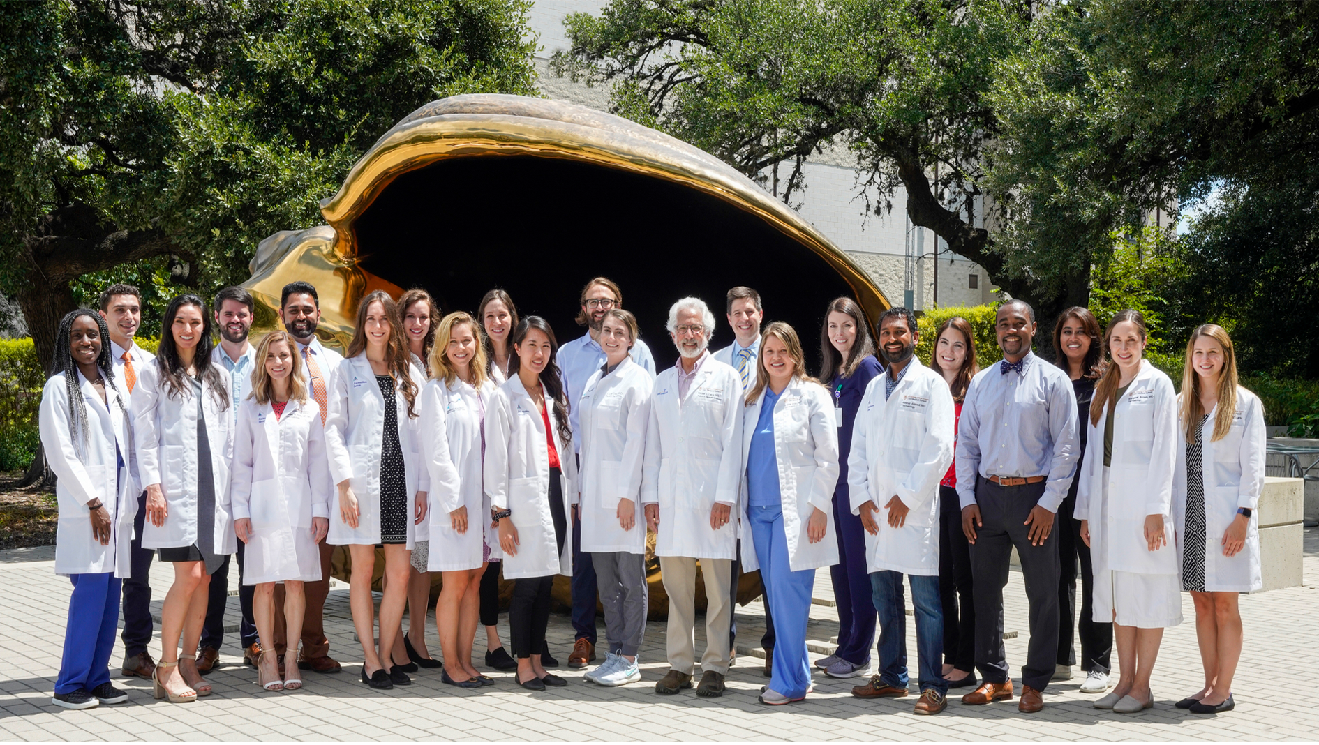 Members of the Dermatology Residency in a group photo.