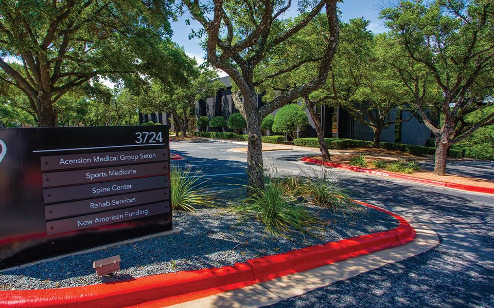 Ascension Seton Medical Group Sports Medicine Clinic exterior.