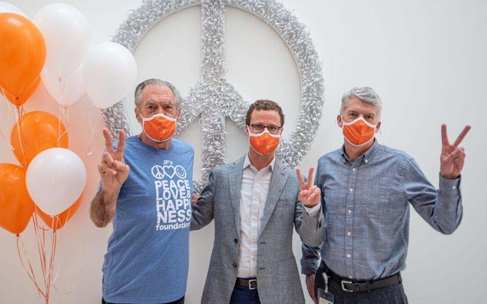 John Paul Dejoria, Tim Mercer and Clay Johnston