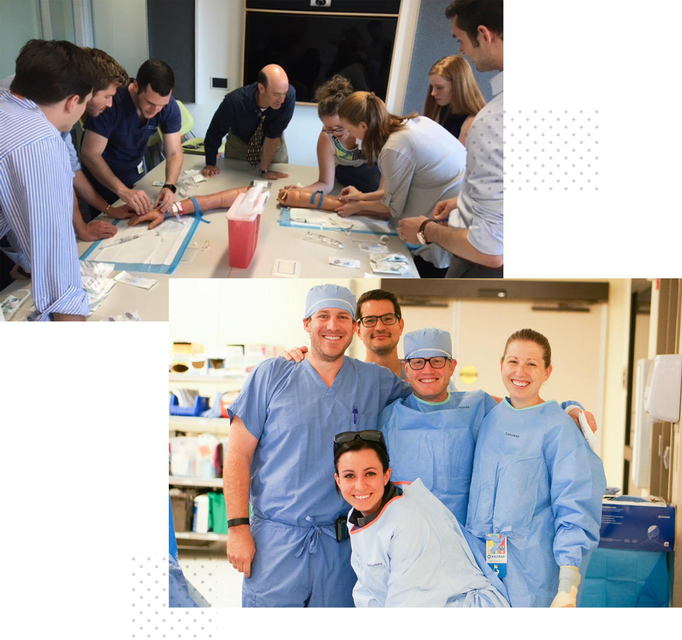Students participating in Department of Surgery and Perioperative Care educational activities.