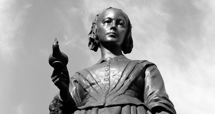 Statue of Florence Nightengale
