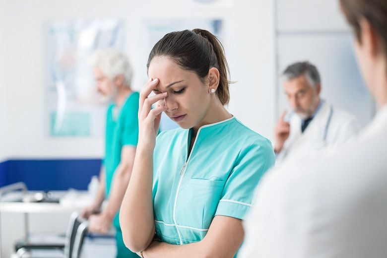 Healthcare service workers, including nurses, face the risk of job-related violence.