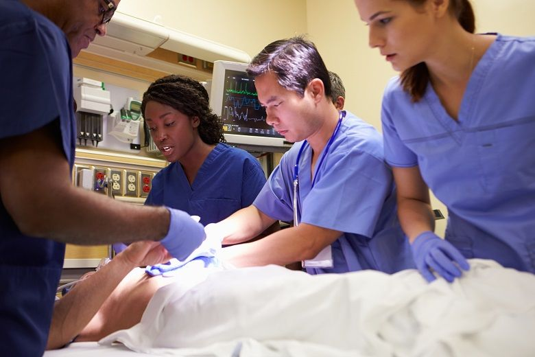 RNs in emergency rooms need to remain calm under pressure.