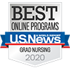 U.S. News Best Online Programs Grad Nursing Badge