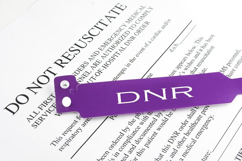 DNR paperwork