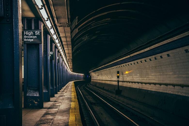 Underground tunnel section