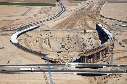 Highway under construction