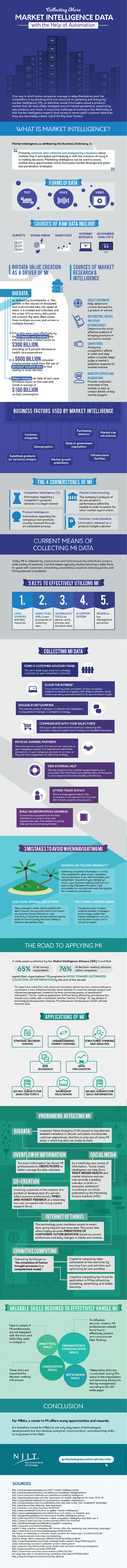 Marketing Intelligence Infographic