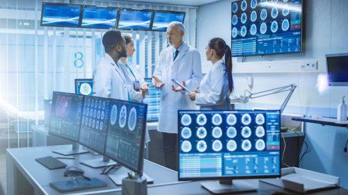 Health informatics technicians diagnose health logistics.