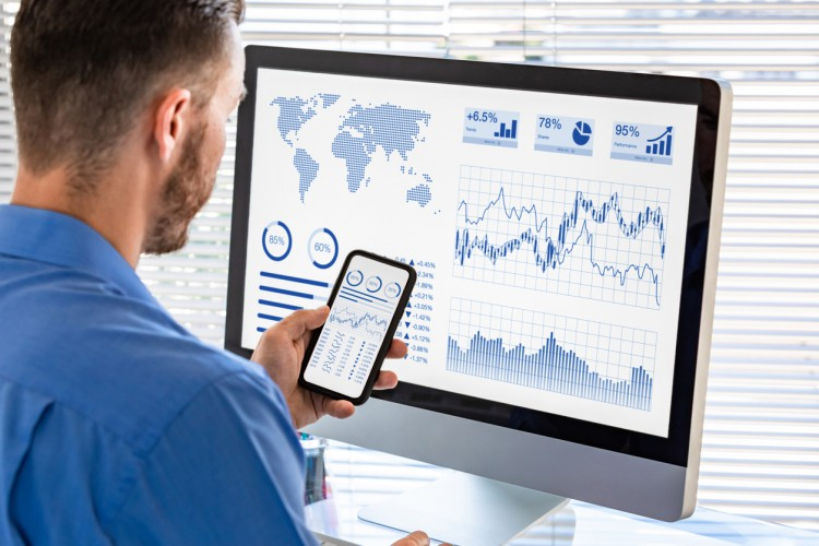 Professionals use business analytics to help organizations make decisions based on data.