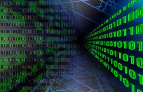 binary code graphic