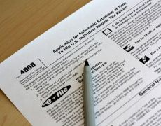 tax form papers