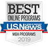 Best Online Programs Badge MBA Programs 2019