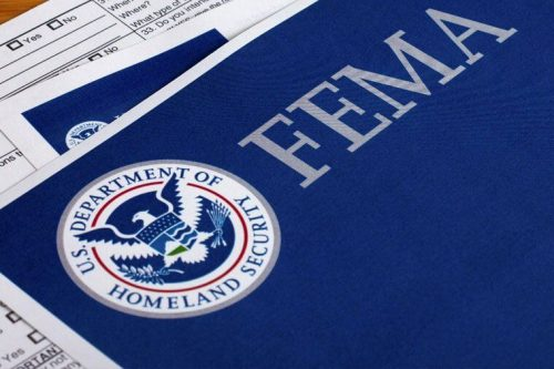 FEMA paperwork