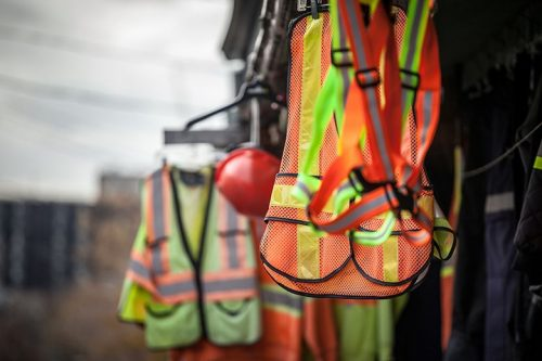 Smart PPE can collect data and warn the wearer of hazards.