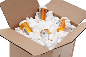 Pharmaceuticals ready for shipment.