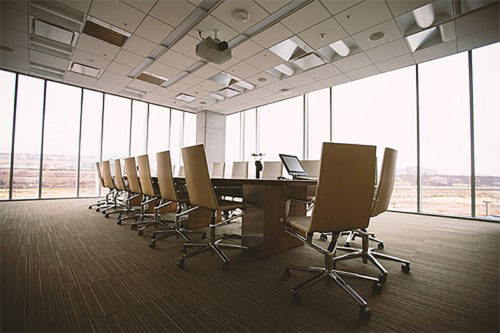 An image of a boardroom.