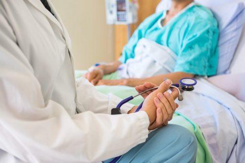DNP bedside with patient