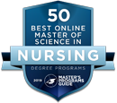 Ranked #16 Master of Science in Nursing programs