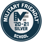 Silver Level Military Friendly Logo for 2020-2021