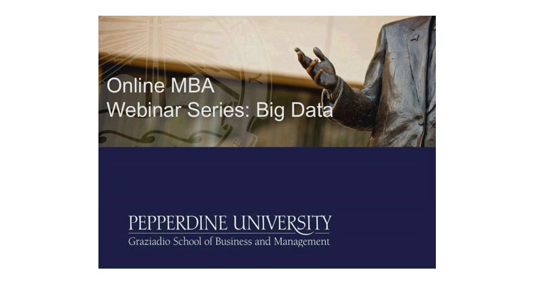 Big data and innovation webinar