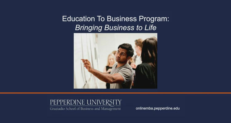 E2B Program (Webinar)