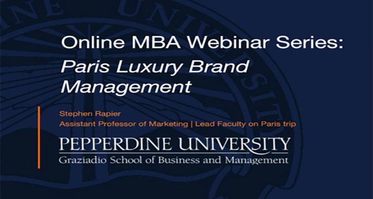 Paris Luxury Brand Management