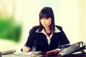 A PR professional reviews a crisis management blueprint.
