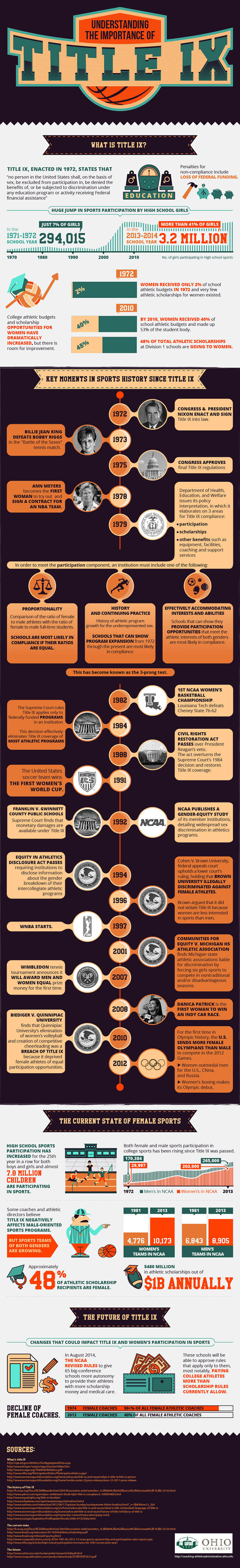Understanding The Importance of Title IX infographic