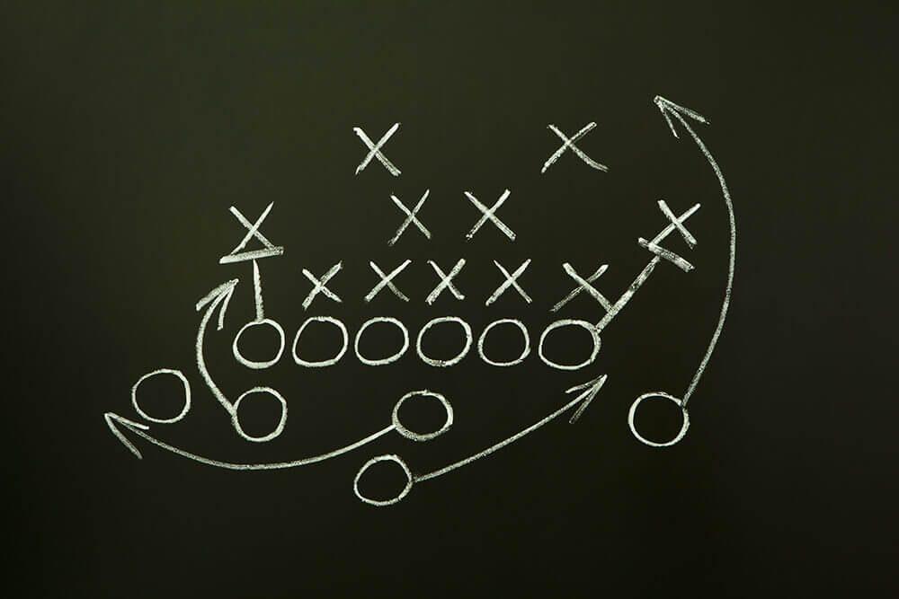 Football play board