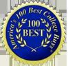 America's 100 Best College Buys badge