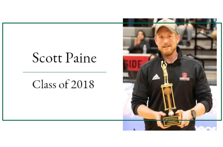 Scott Paine Master of Athletic Administration Graduate