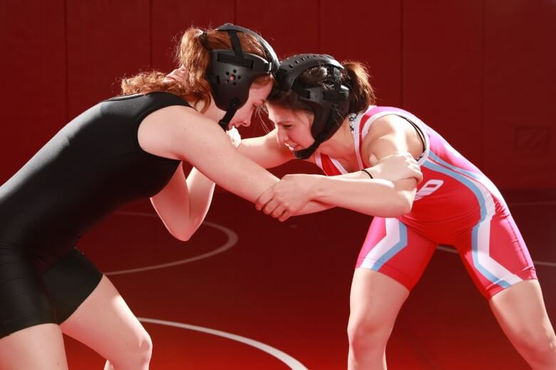 Wrestling has become one of the fastest-growing girls' sports at the high school level.