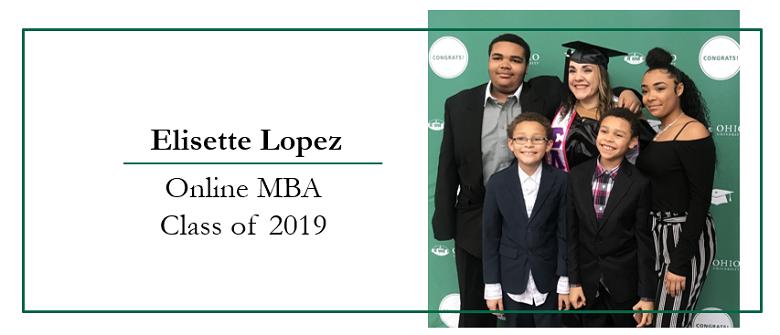Alumni Interview 2019 Online MBA Graduate