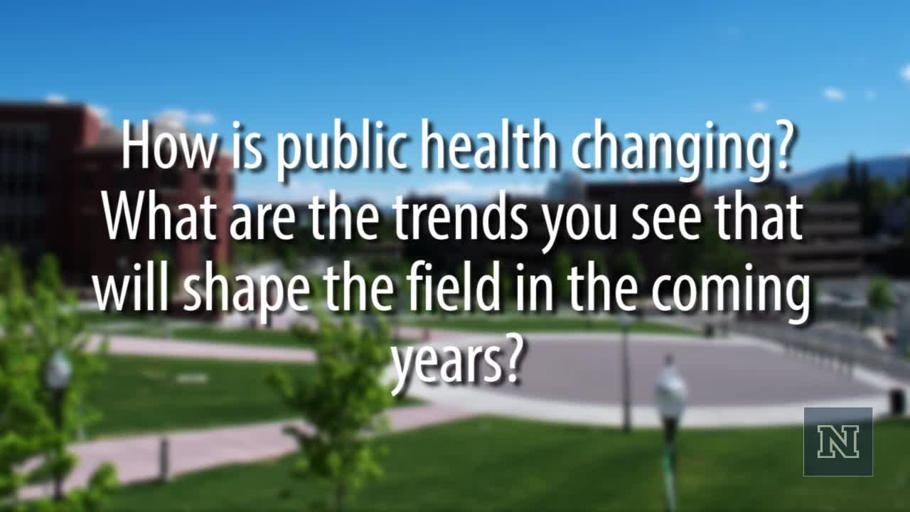 How is public health changing? What are the trends you see that will shape the field in the coming years?