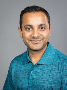 Picture of Professor Binod with plain background
