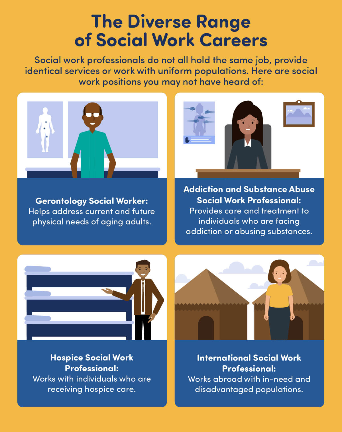 social workers at work