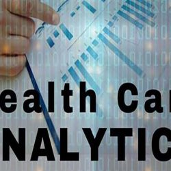 Chart showing healthcare analytics.