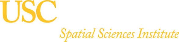 USC Dornsife Spatial Sciences Institute Logo