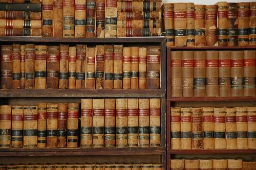 Library of American law books