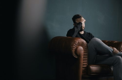 The secondary impact of COVID-19: struggles with mental health.