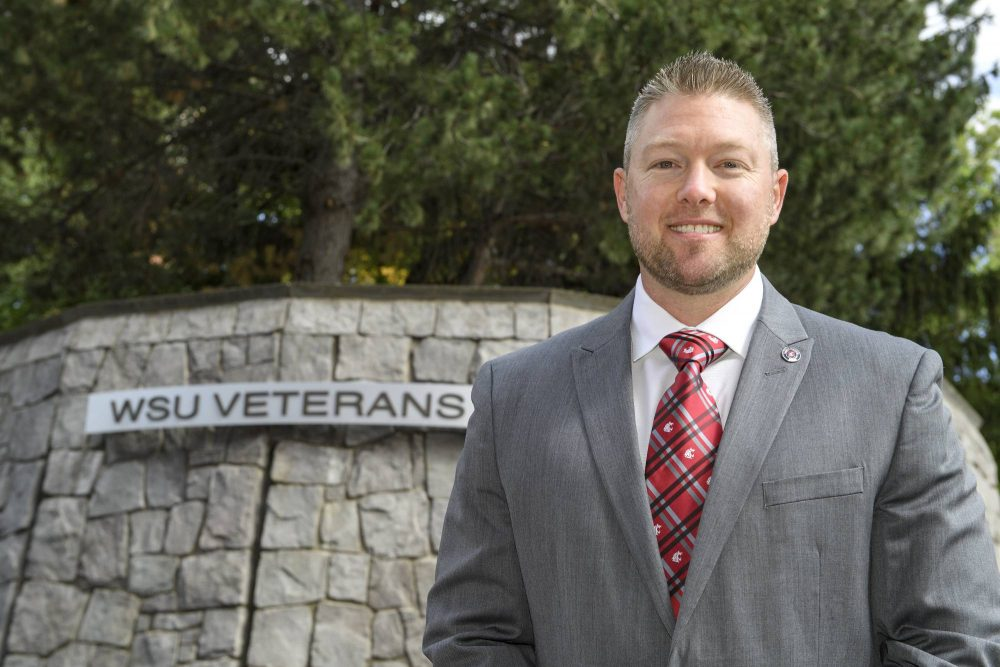 WSU veteran student Jason Williams brings leadership to WSU.